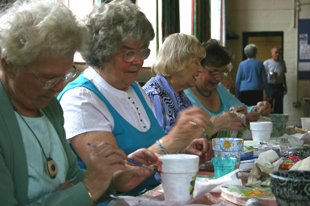About chorlton good neighbours for Crafts for older adults