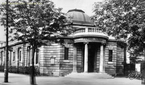 Libraries, Manchester Public Libraries, Chorlton Library 1951