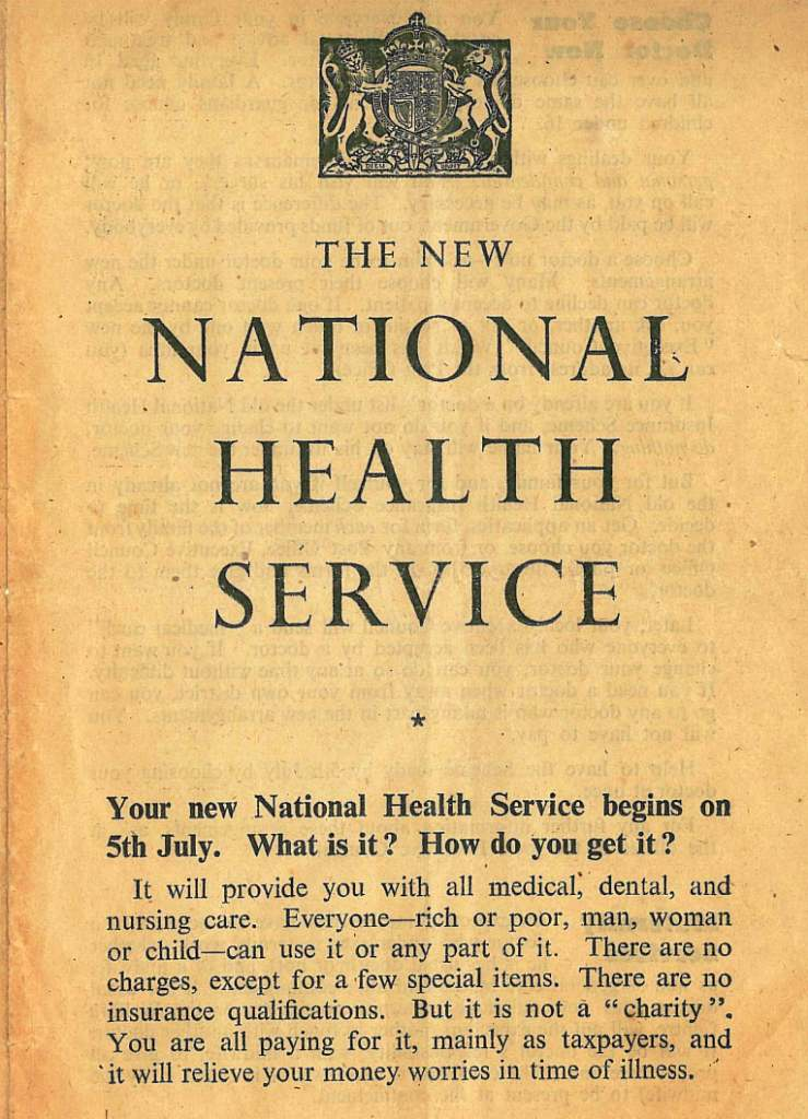 history of the nhs in the uk Nhs glasses a guest post by katy canales, acting curator, v&a museum of childhood 2018 marks the 70th anniversary of the national health service (nhs.