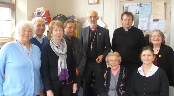 Bishop David walker Visit